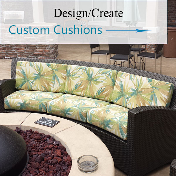 Outdoor Cushions by Elegant Upholstery