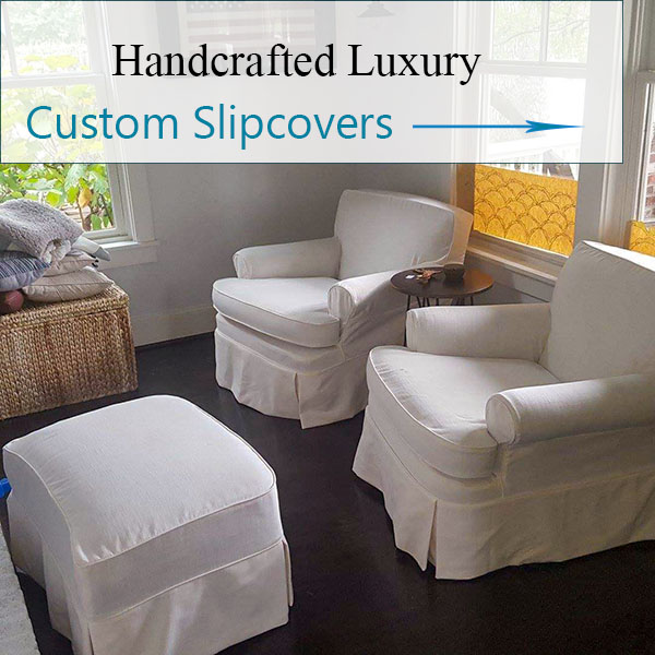 Chair Slipcovers by Elegant Upholstery