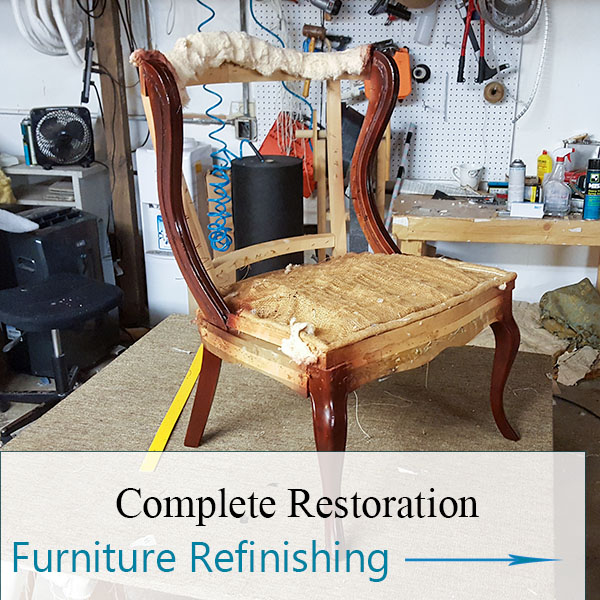 Chair Refinishing by Elegant Upholstery