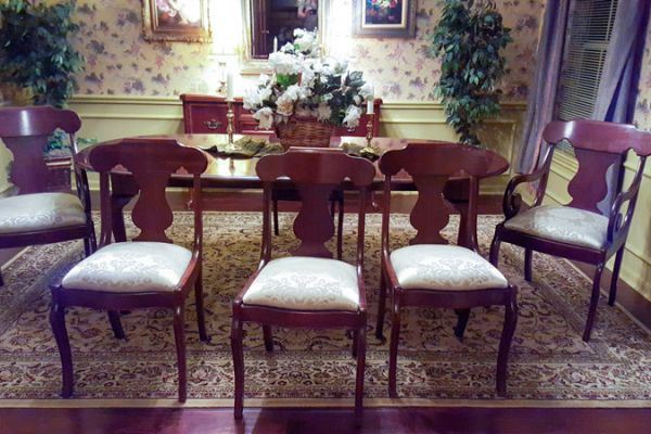 Dining Chair Reupholstery by Elegant Upholstery Houston