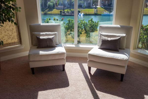 Chair reupholstery by Elegant Upholstery Houston