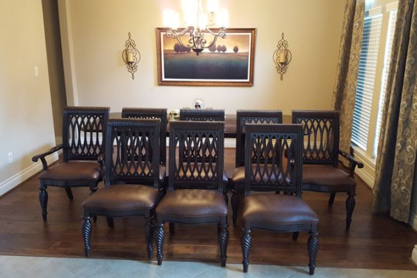 Dining-Chair Reupholstery Katy, TX by Elegant Upholstery