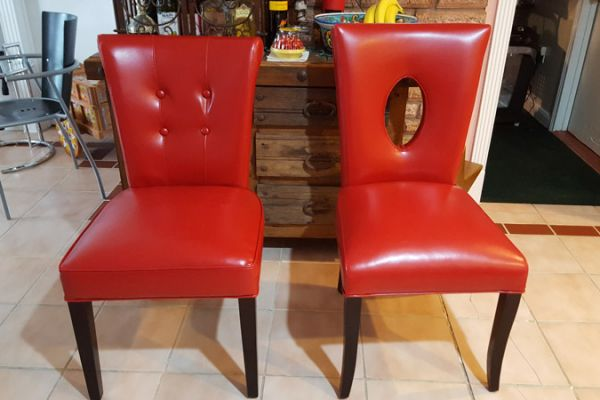 Accent Chairs Upholstered by Elegant Upholstery in Houston, TX